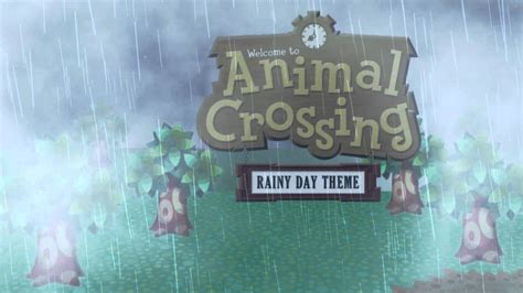 Rainy Day Wallpapers Animated - animal crossing rainy day theme animated desktop