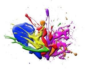 Paint Splatter Transparent