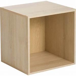 Cube De Rangement Leroy Merlin : etag re 1 case multikaz effet ch ne x x p ~ Dailycaller-alerts.com Idées de Décoration