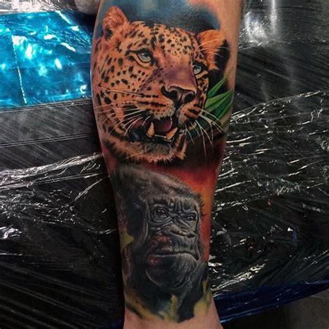 colorful tattoos  men vivid ink design ideas