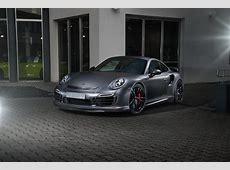 """DUB Magazine TechArt Porsche 911 Turbo S """"Dark Knight"""""""