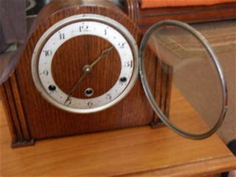 mantel clocks  rare antique perivale mantle clock