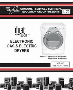 Whirlpool Duet Sport Dryer Service