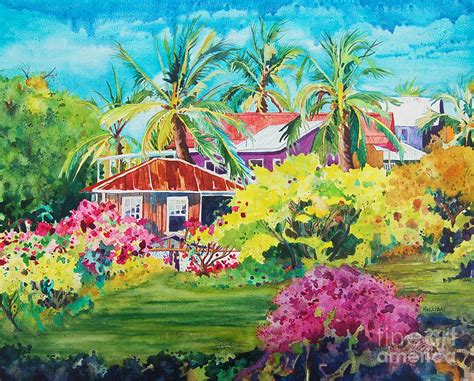 on the big island painting by terry holliday