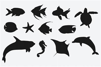 Animal Silhouettes Marine Silhouette Crafters Cart Brandi