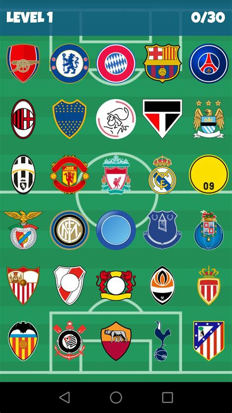 football clubs logo quiz  telecharger pour android