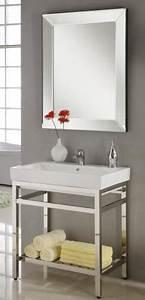31 Inch Industrial Console Bathroom Vanity
