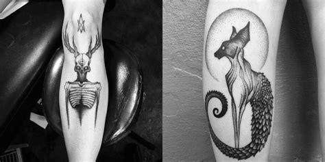 placide avantia tattoos  dark aesthetics  nature