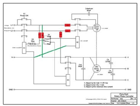 Rotary Phase Converter Designs Plans Page