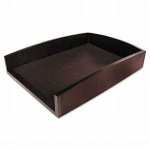 Aopart11002c artistic eco friendly bamboo curves letter for Bamboo letter tray