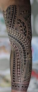 Tattoo Tribal Homme Tatouage Tribal Epaule Pec Tatouage Tribal