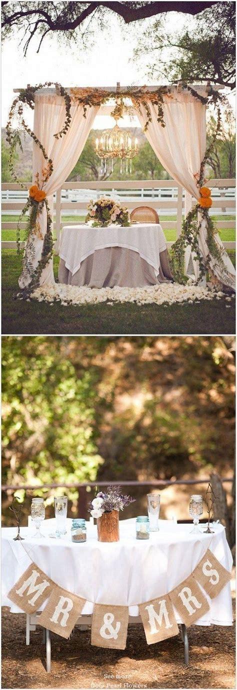 sweetheart table decor ideas  pinterest