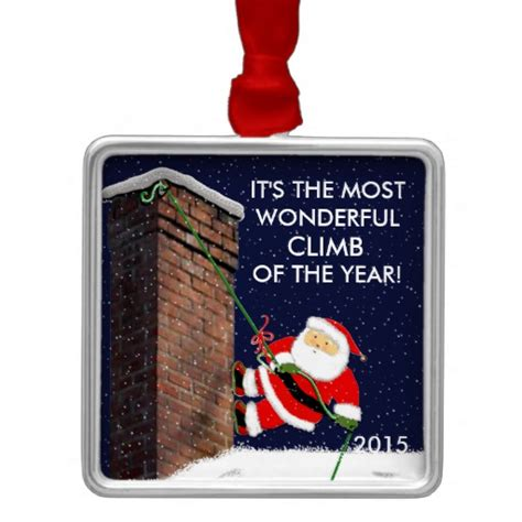 gifts for rock climbers rock climbing gift ideas metal ornament zazzle