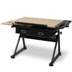 bureau table a dessin bureau table 224 dessin avec tabouret dot 233 de 2 grands tiroirs achat vente bureau bureau table