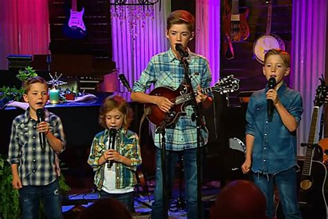 josh turners  sons sing  river  happiness