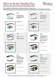 How To Do The Smokey Eye Diagram For Makeup Application