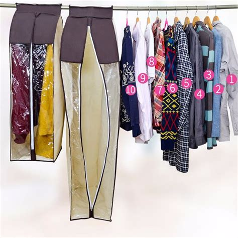 hanging garment clothes dustproof bag dresses suit