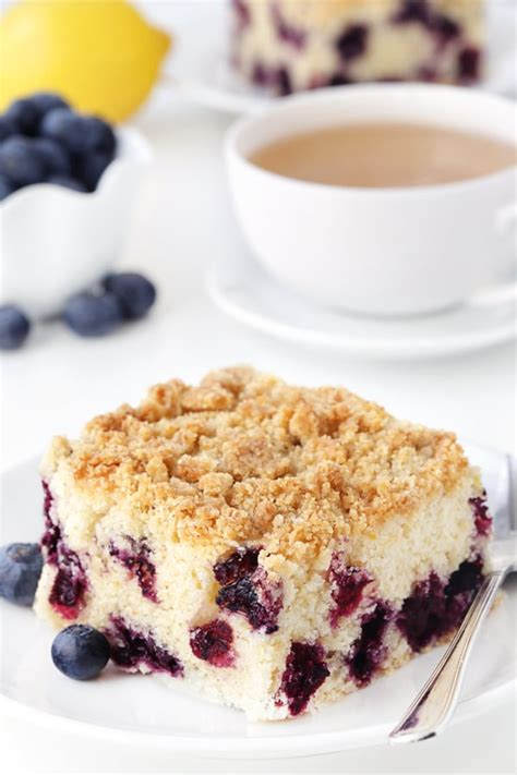When you read through the recipe, you'll probably think that there are a lot of details and that it's too hard, but i'll walk you through it, step by step and you'll see how easy it is. Blueberry Coffee Cake - My Baking Addiction