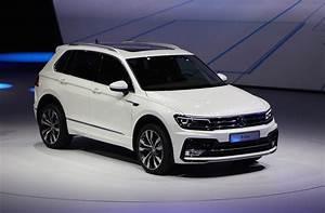 New Volkswagen Tiguan European Spec 2015 Frankfurt Auto