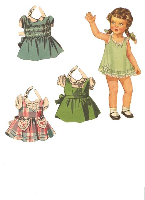 missy paper dolls baby