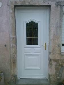realisations fenetres portes fenetres porte d39entree With porte d entrée pvc avec fenetre alu pvc