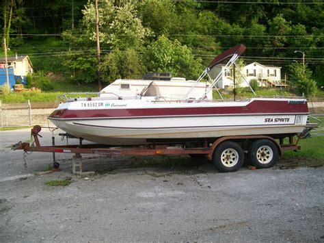Sea Deck Boats Used by Sea Sprite Deck Boat Boat For Sale From Usa