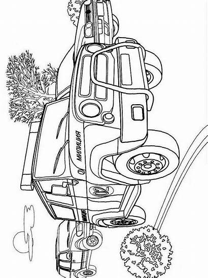 Police Coloring Pages Printable