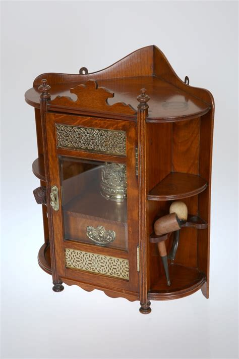 kitchen cabinets corner a late oak hanging smokers corner cabinet with gl 2943