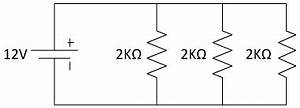 circuit analysis With resistors in series and parallel physics
