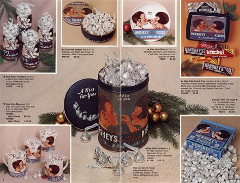 christmas ideas catalogues countdown hershey s 1982 gift catalog collectingcandy