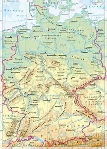 Deutschland Physische Karte : heimat und welt kartenansicht ~ Watch28wear.com Haus und Dekorationen