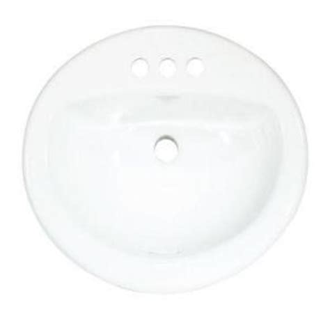 glacier bay aragon oval drop in bowl china pedestal sink from home depot sinks bathroom furniture