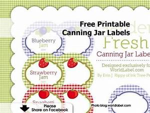 free printable canning jar labels With home canning labels