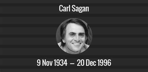 carl sagan death anniversary