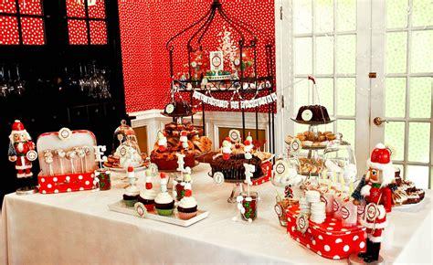 christmas dessert table ideas  kids