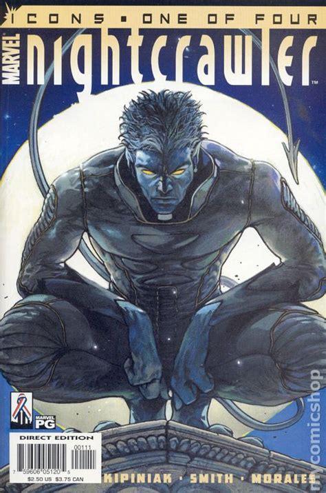 nightcrawler marvel comic series icons 2001 books comics 2nd night mini 2002 issue character june