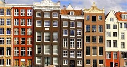 Amsterdam Nederland Vergeleken Huizenmarkt Zeepbel Academica