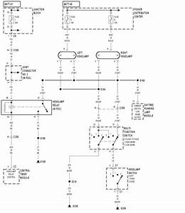 Headlight Wiring Diagram For 2001 Dodge Ram