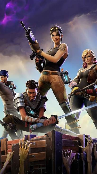 Fortnite Wallpapers Iphone Games Players Royale Battle