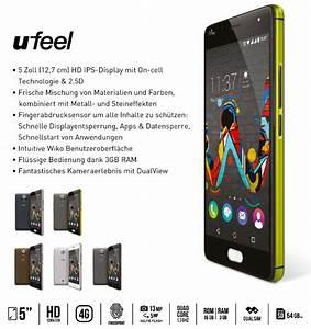 Wiko stellt U Feel und U Feel Lite Smartphones mit Fingerabdrucksensor vor Notebookcheck com News
