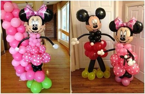 Mickey And Minnie Balloon Decorations - 17 best images about mickey minnie mouse balloon sculpture
