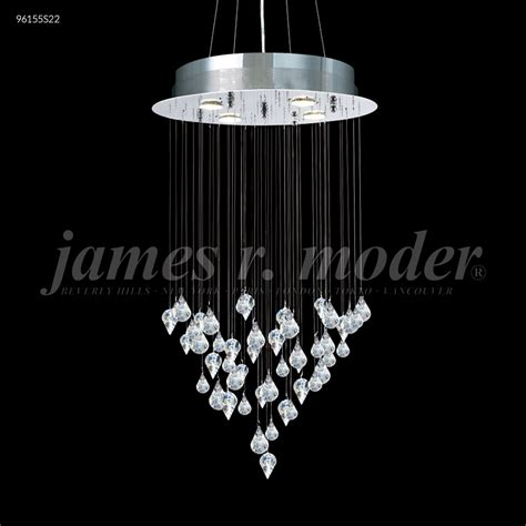 Moder Chandeliers by R Moder Medallion Collection Chandelier Silver