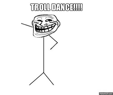 Dancing Troll Meme - troll dance on make a gif
