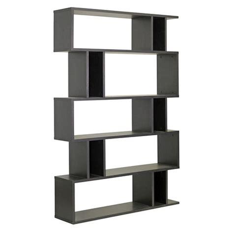Brown Bookshelf by Goodwin 63 75 Quot 5 Level Modern Bookshelf Brown