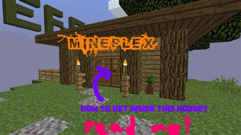 How To Get Inside House In Hub? Minecraft Blog