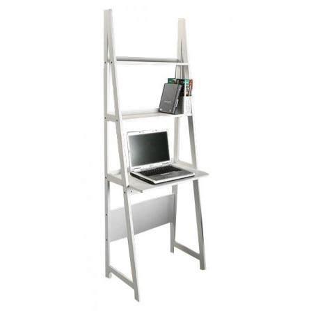 bureau etageres étagère bureau en bois blanc achat vente etagère
