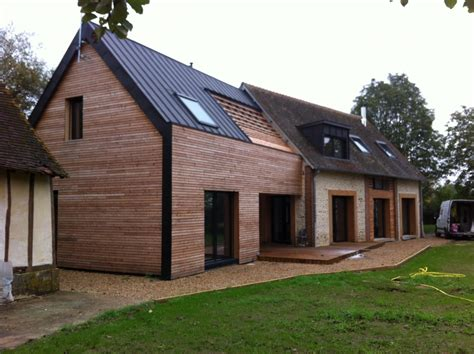 extension de maison en bois mpc construction maison en bois