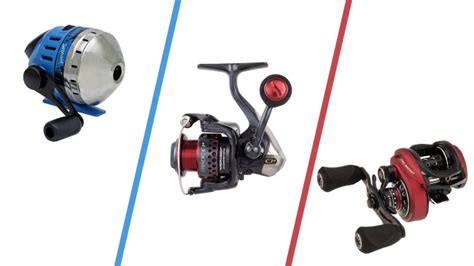 types  fishing reels flw fishing articles