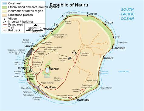 Geography of Nauru - Wikipedia