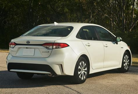 Price Of 2020 Toyota Corolla by 2020 Toyota Corolla Hybrid Us Interior Mpg Price